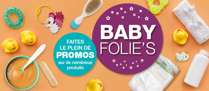 Les BABY FOLIE'S sont de retour ! Blog BBF 1019
