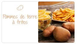 Variétés pour pommes de terre à frites