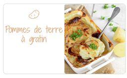 Variétés pour pommes de terre à gratin