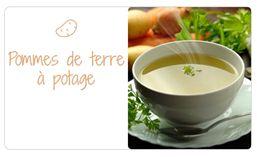 Variétés pour pommes de terre à potage