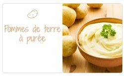 Variétés pour pommes de terre à purée