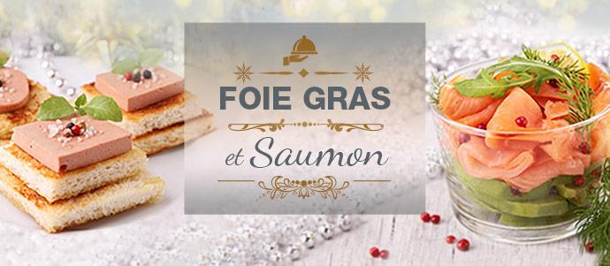 Saumon ou foie gras pour les fêtes ! Blog saumon FG