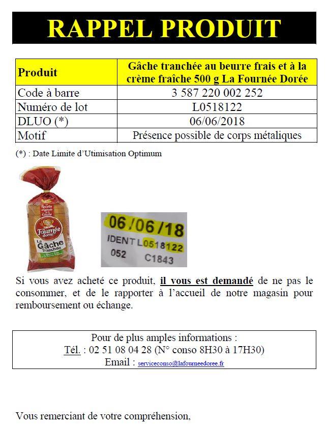 Rappel produit cora INFO CONSOMMATEUR   Rappel de produits Cora