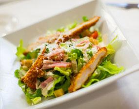 La paresse en cuisine Salade César