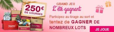 Grand jeu l'été gagnant sur houra.fr