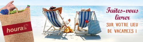 faites-vous livrer vos courses sur votre lieu de vacances avec houra.fr