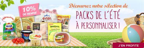 Les packs de l'été à personnaliser sur houra.fr