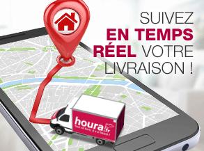 Suivez votre livraison en temps réel sur houra.fr