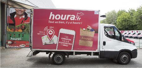 houra.fr renouvelle l'ensemble de sa flotte de camions de livraison 2