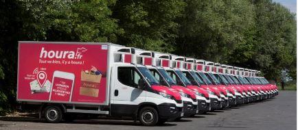 houra.fr renouvelle l'ensemble de sa flotte de camions de livraison 3