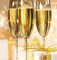 houra ! C'est Noël champagne