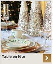 table en fete