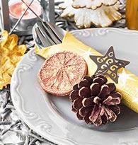 Organisez votre soirée du Nouvel an : mettez des paillettes ! deco