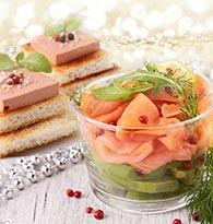 Saumon et foie gras