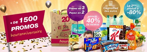 Promotions houra 20 ans