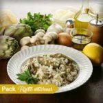 Les packs recette à personnaliser ! pack risotto artichauts parmesan 150x150