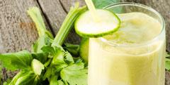 Recette Milk-shakes au concombre bio