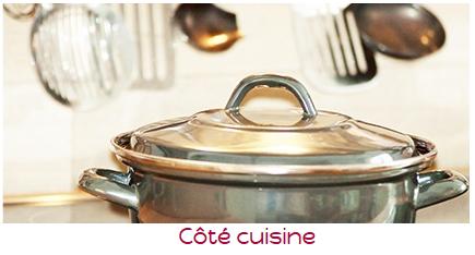 art de la table coté cuisine