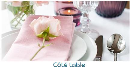coté table art de la table