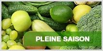 Les fruits et légumes de pleine saison chez houra