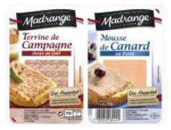 INFO CONSOMMATEUR – Rappel de produit Terrine de campagne et mousse de canard au porto marque Madrange, 2x50g Retrait Madrange