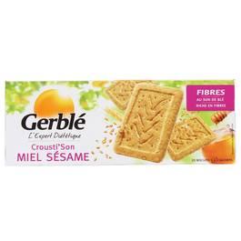 INFO CONSOMMATEUR – Rappel de produit Biscuits GERBLE Biscuit Crousti son miel sésame GERBLE 2