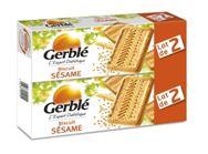 INFO CONSOMMATEUR – Rappel de produit Biscuits GERBLE Biscuits Sésame lot de 2 GERBLE