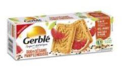INFO CONSOMMATEUR – Rappel de produit Biscuits GERBLE Biscuits Sésame pamplemousse GERBLE