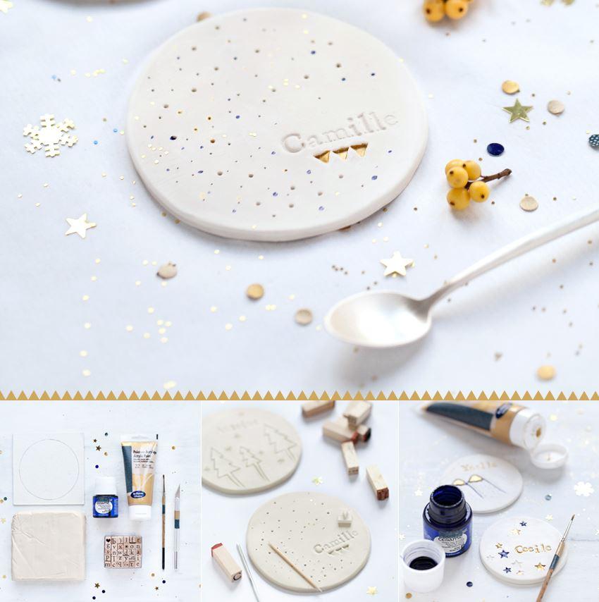 Décoration de Noël DIY blanc