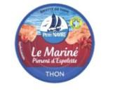 INFO CONSOMMATEUR – Petit Navire Emietté de thon Le mariné au pimet d'Espelette 110g PETIT NAVIRE