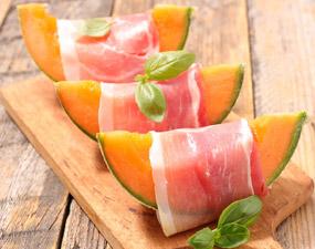 Recette melon jambon de parme