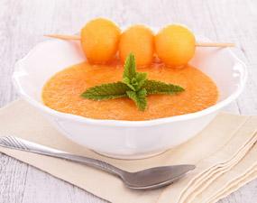 Recette soupe de melon