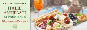 operation italie 300x104 Le programme des gourmets en mai sur houra