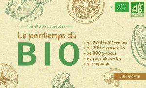 printemps du bio 1 300x182 Le programme des gourmets en mai sur houra